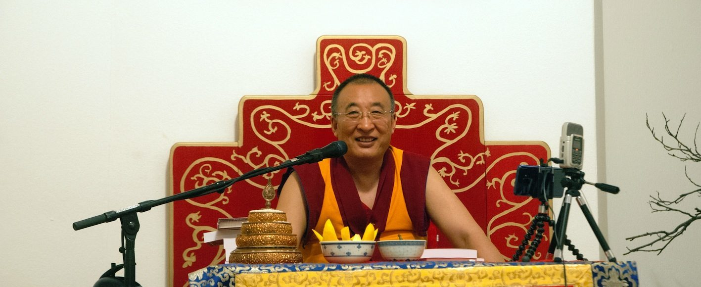 Khentrul Rinpoche Vienna 2018